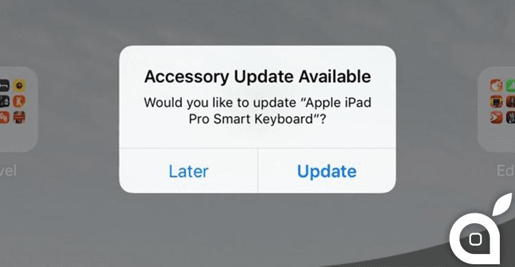 Apple aggiorna il firmware dell'iPad Pro Smart Keyboard