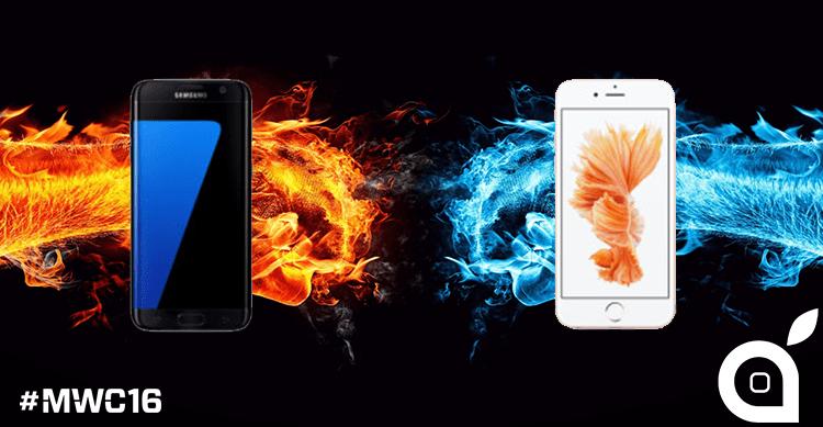 Samsung Galaxy S7 e S7 edge Vs iPhone 6s e iPhone 6s Plus: ecco il confronto delle caratteristiche! | MWC 2016