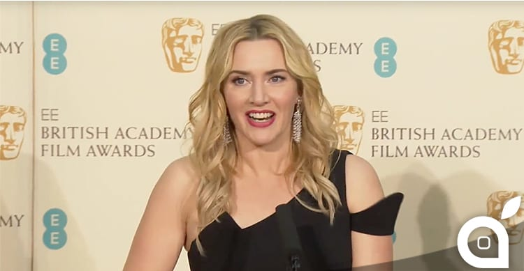 Kate Winslet premiata ai BAFTA per la sua interpretazione nel biopic 'Steve Jobs'
