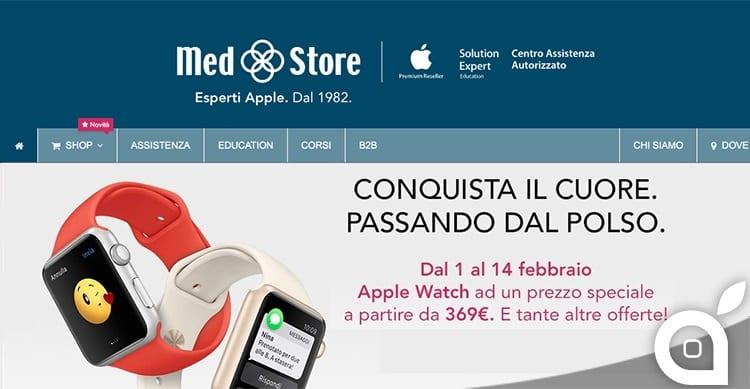 Da Med Store tantissime offerte Apple per un San Valentino di successo, anche online!