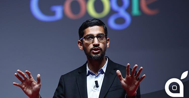Sundar Pichai di Google si schiera a favore di Tim Cook circa la richiesta dell'FBI sulle backdoor in iOS