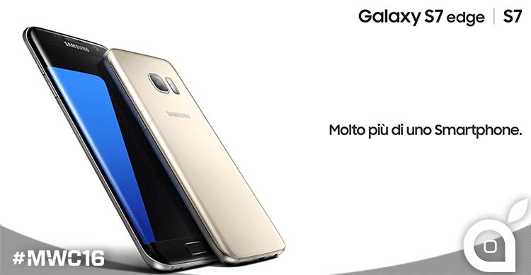 Samsung presenta il nuovo top di gamma Samsung Galaxy S7 e Samsung Galaxy S7 edge   MWC 2016