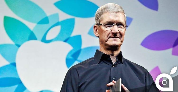 """Tim Cook: """"Sono orgoglioso dei prodotti Apple, con questi vogliamo cambiare il mondo"""""""