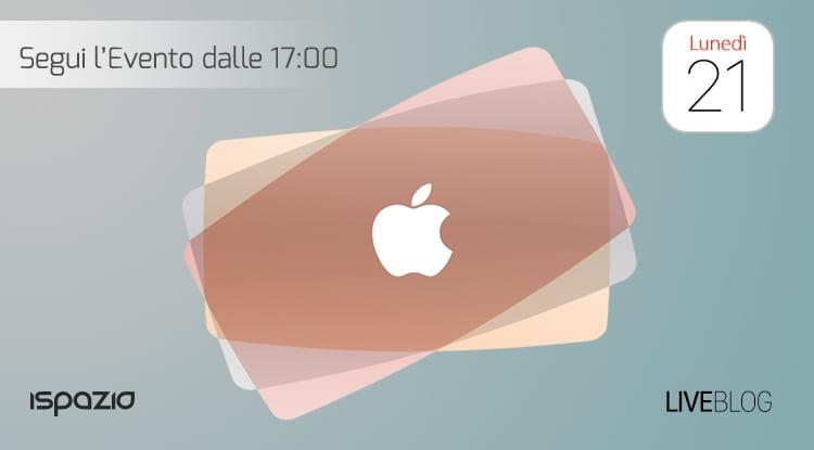 Termina il LIVE BLOG di iSpazio sull'evento Apple