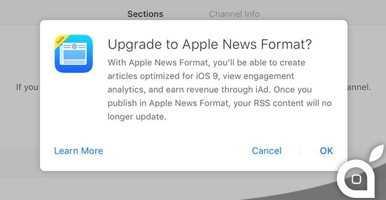 L'Apple News Format permette ora a tutti gli editori di ottimizzare i contenuti per iOS 9