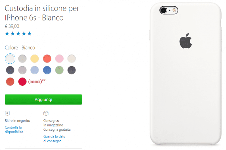 custodie iPhone 6s