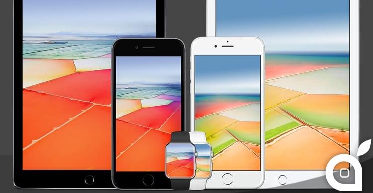 Disponibili gli sfondi dei nuovi iPhone SE e iPad Pro da 9.7″