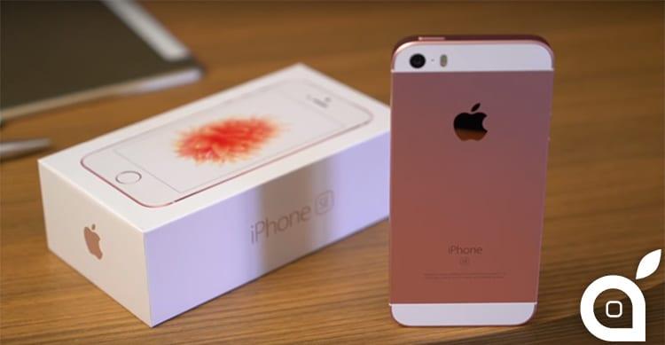 Ecco il primo unboxing di iPhone SE [Video]