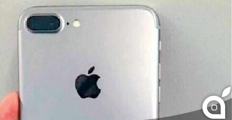 Probabile prima foto di iPhone 7 Plus con fotocamera a doppia lente e Smart Connector