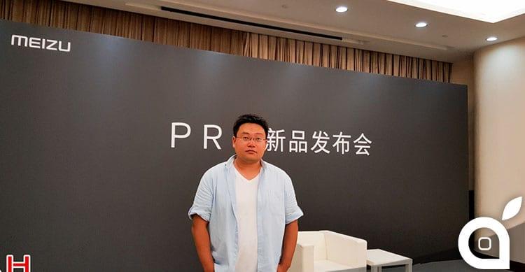 """""""Non è iPhone 7, è il nuovo Meizu"""" le dichiarazioni del VP Li Nan   iSpazio"""