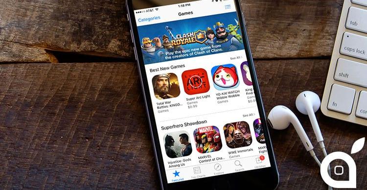 Gli utenti iPhone statunitensi hanno speso $35 nel 2015 per l'acquisto di app e giochi