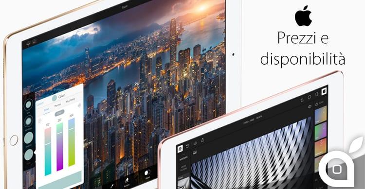 iPhone SE e nuovo iPad Pro: prezzi italiani e disponibilità dei nuovi dispositivi Apple