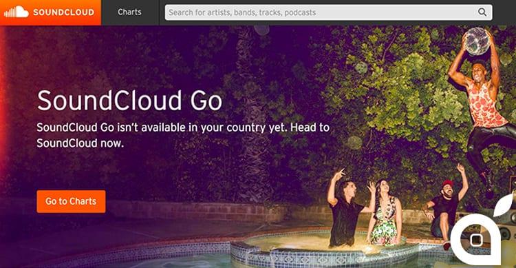 SoundCloud Go: il nuovo servizio di streaming musicale a pagamento