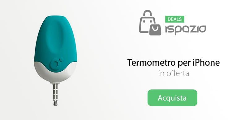 Oblumi Tapp: il vero termometro per iPhone, disponibile su Amazon