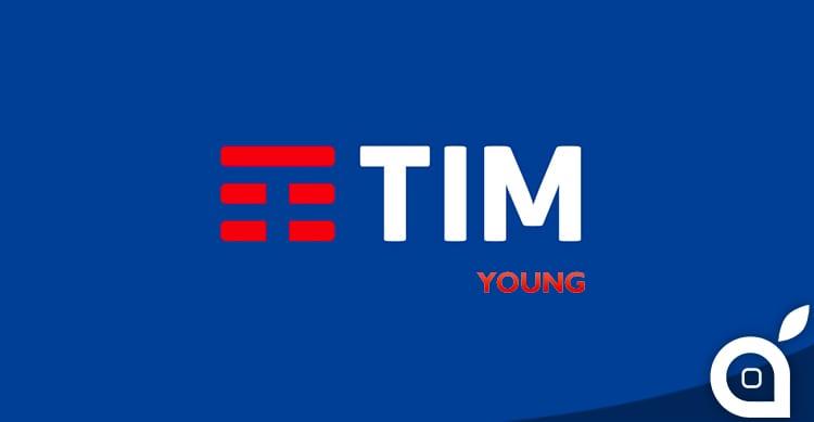 TIM Young XL Powered New: 200 minuti, 1000 SMS e 4GB a 9€ al mese