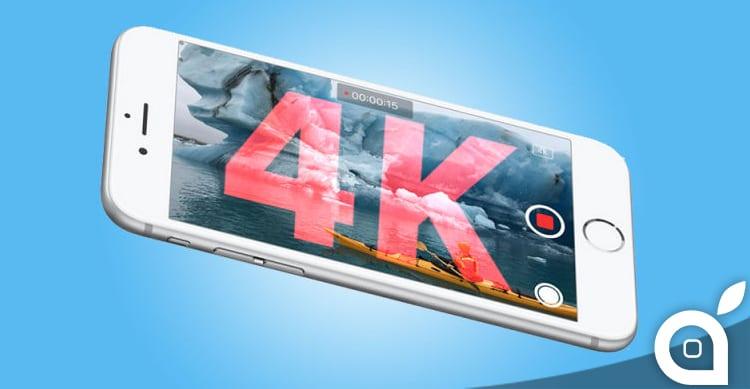 iPhone SE potrà registrare video in 4K?   Rumor