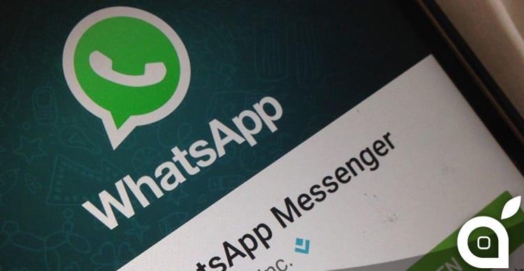 whatsapp smette di funzionare