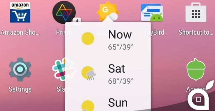 3D Touch Android N