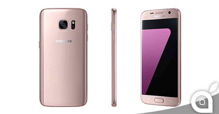 "Disponibile da oggi i Samsung Galaxy S7 e S7 Edge in versione ""Pink Gold"""