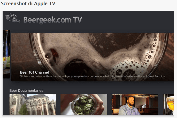anteprima apple tv