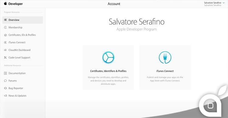 Apple rinnova l'interfaccia grafica del Developer Center, il portale dedicato agli sviluppatori