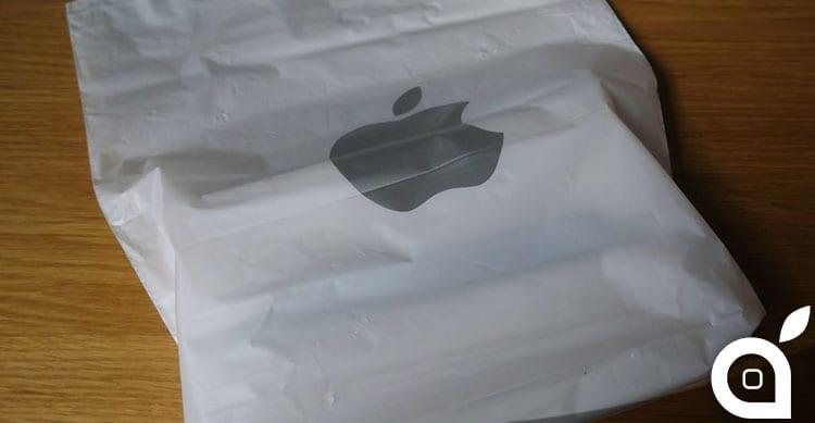 Apple per l'ambiente: stop alle buste di plastica negli Store