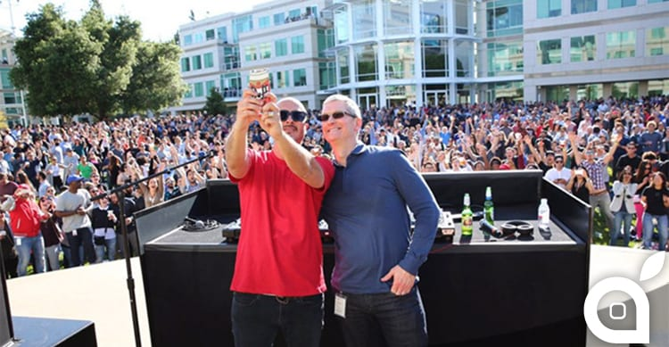Grande festa a Cupertino per i 40 anni di Apple