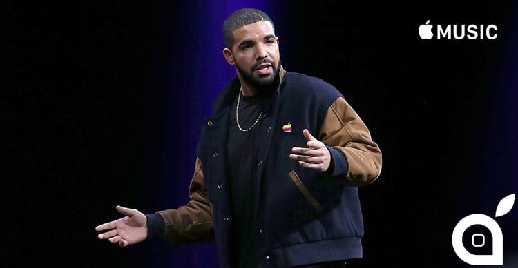 Drake batte tutti i record di ascolti con il nuovo album in esclusiva su Apple Music