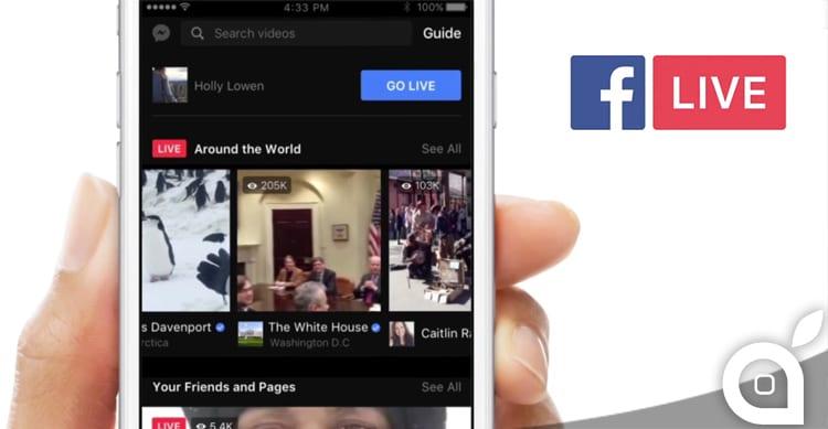"""Facebook oltre a migliorare i LIVE per le """"dirette"""", introduce la ricerca dei video"""