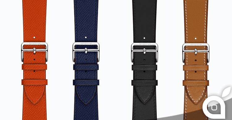Cinturini Hermès per Apple Watch ora disponibili separatamente