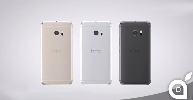 HTC 10 svelato completamente in anticipo: Ecco il video