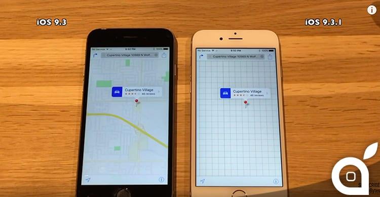 iOS 9.3.1 vs iOS 9.3: Ecco lo speed test su diversi iPhone, dal 4S al 6 [Video]