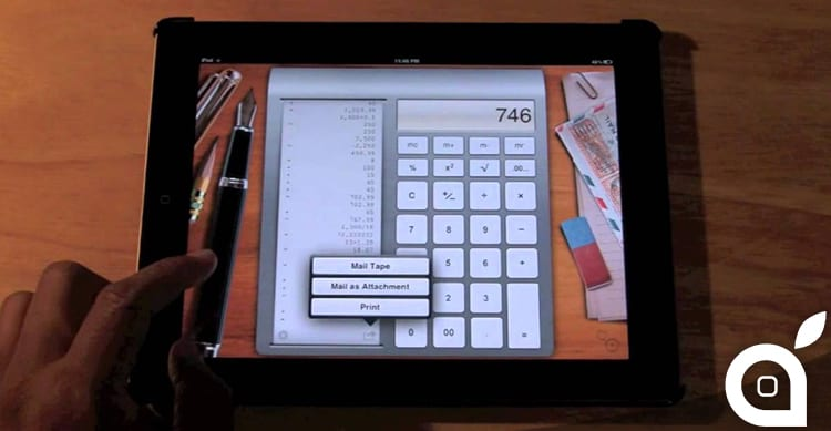Perché l'iPad non ha mai avuto la calcolatrice? Ecco la risposta