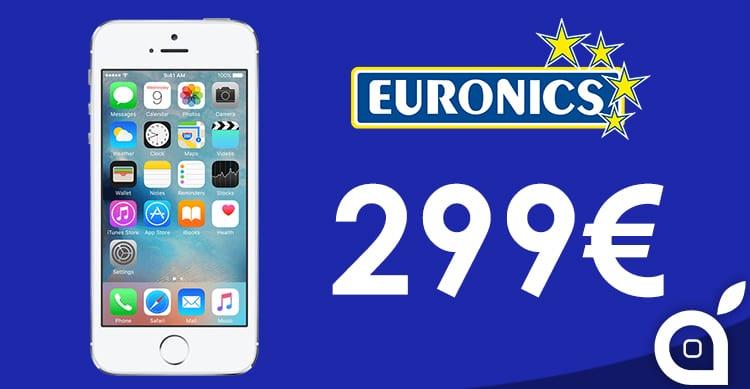 Interessante offerta da Euronics: iPhone 5s da 16GB a 299€
