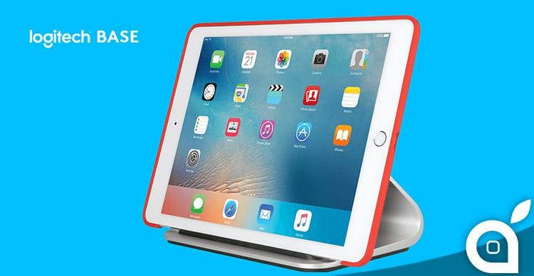 Logitech presenta BASE, un nuovo charging dock per iPad Pro da 12.9″ e 9.7″