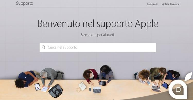Apple ridisegna il sito dedicato al supporto clienti