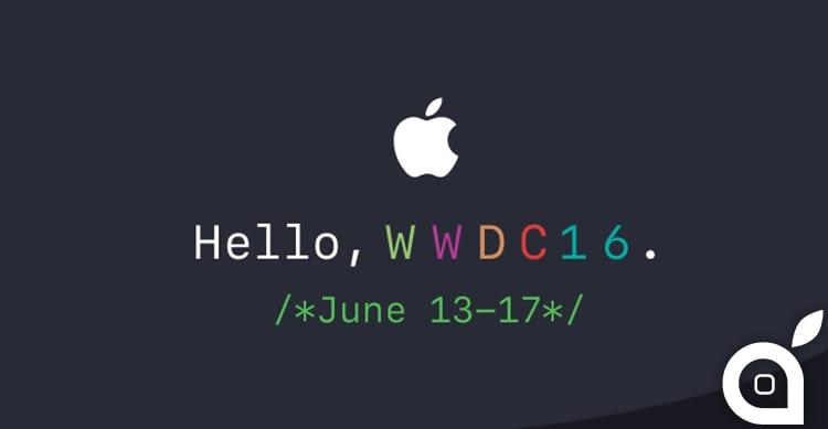 WWDC 2016: Apple consegna alla stampa gli inviti per il keynote del 13 Giugno
