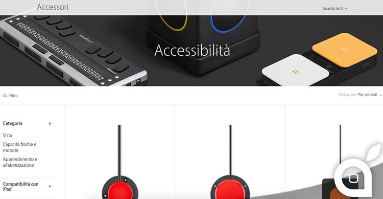 L'Apple Store online ha una nuova categoria dedicata agli accessori per l'accessibilità