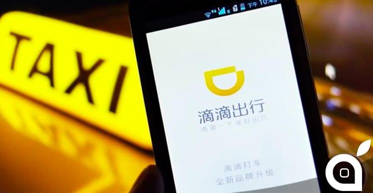 Apple investe 1 miliardo di dollari in Didi Chuxing, l'azienda di trasporti cinese