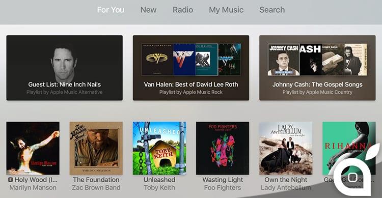 Apple Music: nuova sezione 'Browse' apparsa per poco nell'app per Apple TV