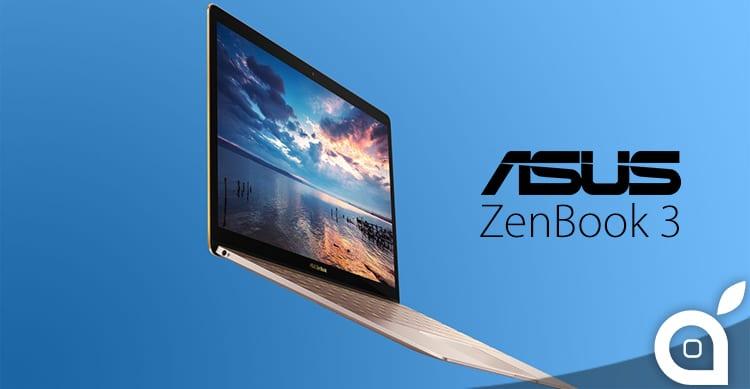 ASUS presenta ZenBook 3, un MacBook per gli utenti Windows [Video]