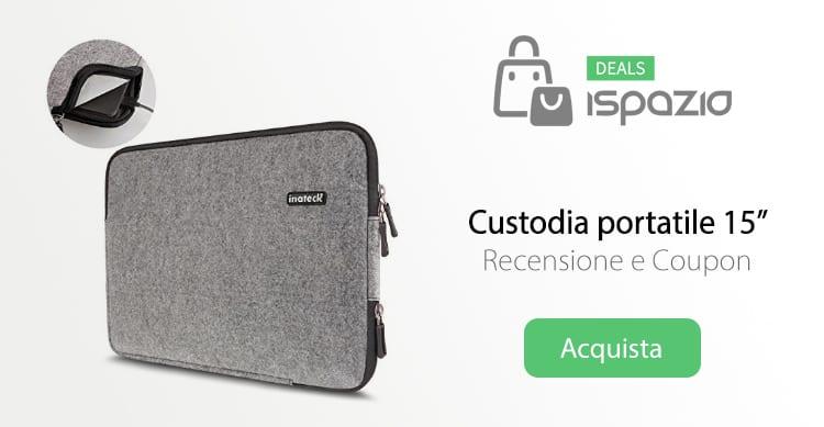 Inateck Sleeve: Custodia per MacBook ed altri portatili | Recensione e Coupon di sconto