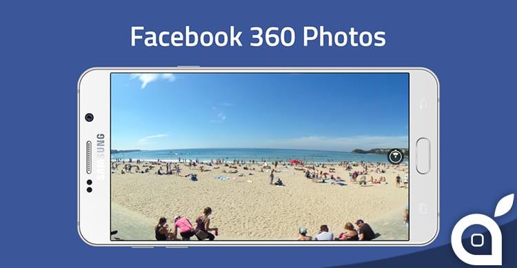 facebook 360 photos panorami