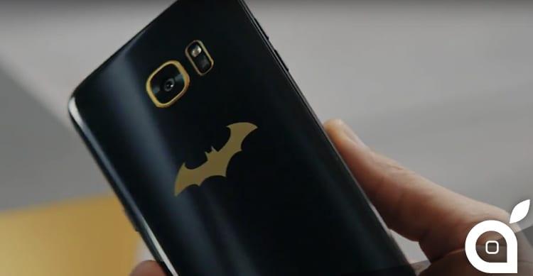 Samsung annuncia il Galaxy S7 EDGE Injustice Edition, con tanto di logo di Batman sul retro [Video]