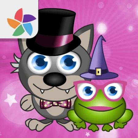 Scoppia le bolle colorate e libera i personaggi di Magic World!