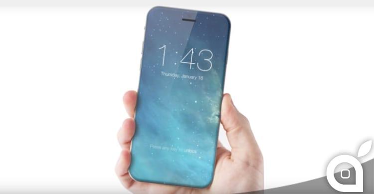 Il più grande re-design dell'iPhone si avrà nel 2017 con uno schermo edge-to-edge?