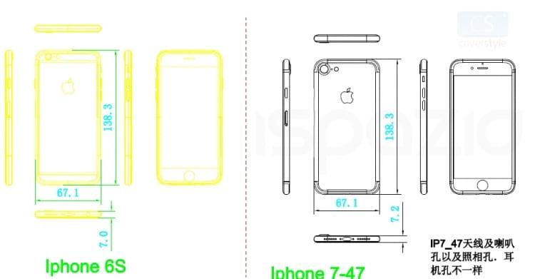 iphone 7 leaked schemes ispazio
