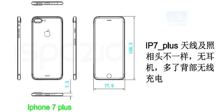 iphone 7 plus leaked schemes ispazio