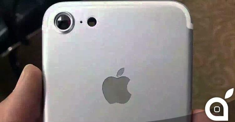 È questa la prima foto reale della scocca di iPhone 7?