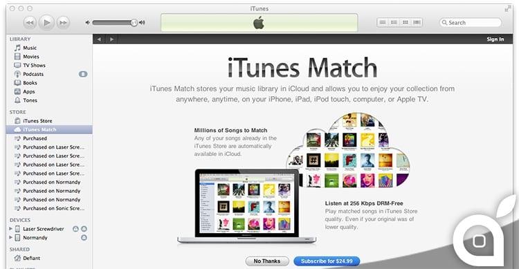 itunes music library bug deletion